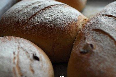 全麦蔓越莓黑糖面包