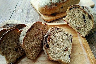 黑麦水果干面包