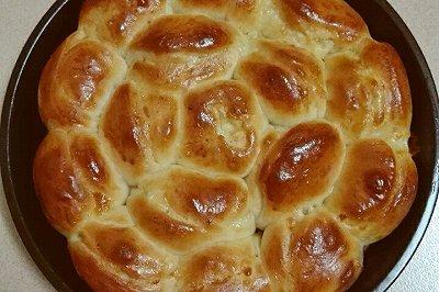 芝士培根火腿面包