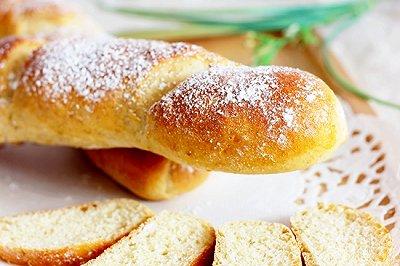 低糖无油全麦长棍面包