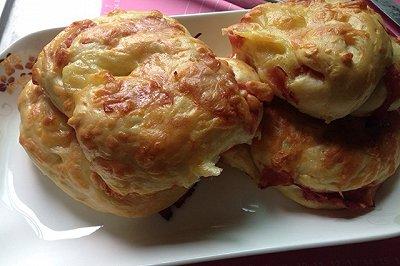 软香培根芝士面包