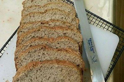 全麦豆渣面包