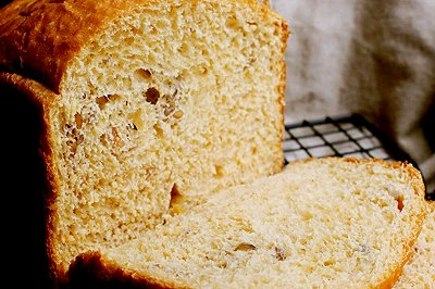 红糖全麦坚果面包