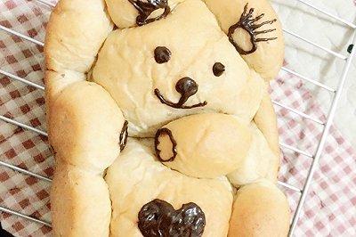 全麦小熊吐司