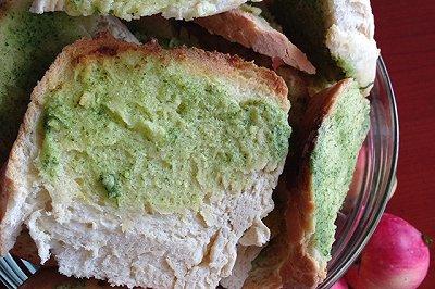 蒜味烤面包