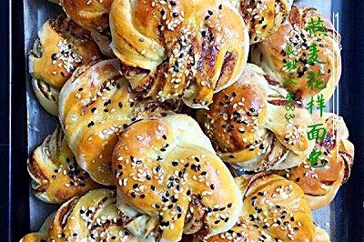 燕麦花样面包