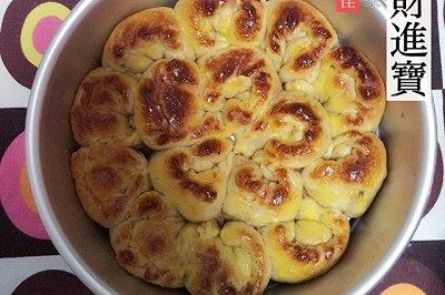 麦麸燕麦芝士面包