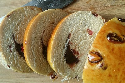 蔓越莓豆沙面包