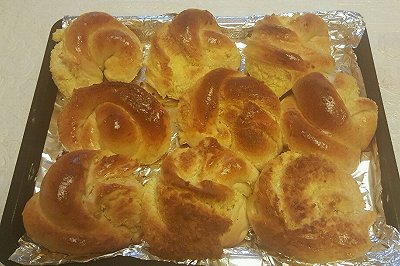 椰蓉甜面包(汤种)