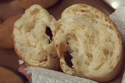 裸麦红提小面包