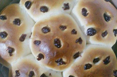 超简单的绿豆沙面包