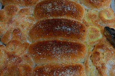 直接法椰蓉面包(无油
