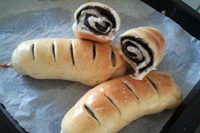 芝麻核桃面包