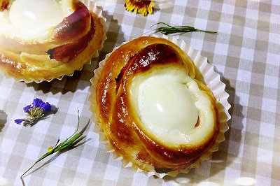 培根蛋面包