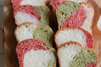 绚烂的吐司面包