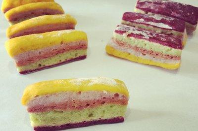 宝宝磨牙饼干之彩虹饼