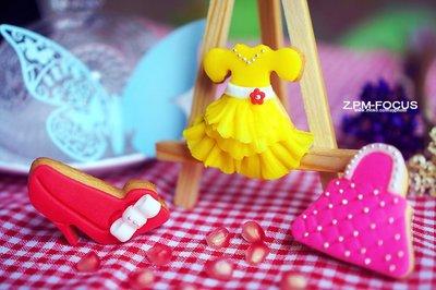 少女心系列翻糖饼干