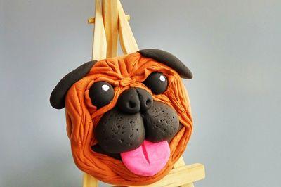 狗狗翻糖饼干