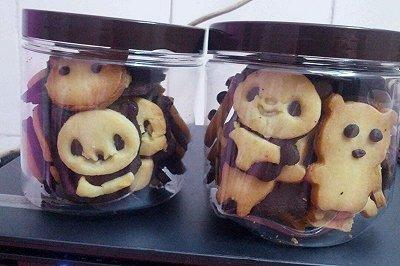 熊猫曲奇饼干