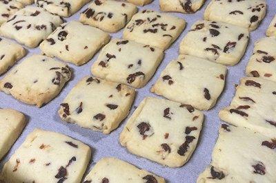 蔓越梅曲奇饼干