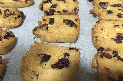 懒人版蔓越莓饼干