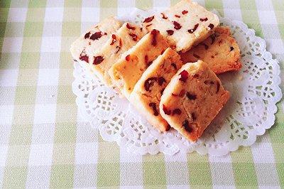 黄油蔓越莓饼干