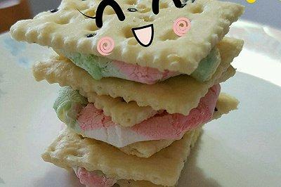烤棉花糖夹心苏打