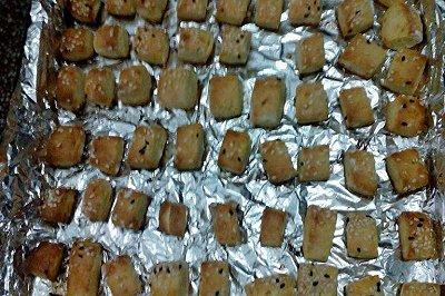 芝麻口袋饼干