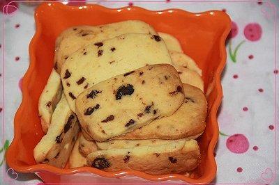 爱上蔓越莓饼干