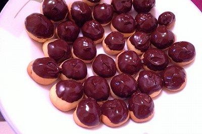 蔓越梅饼干球(巧克力