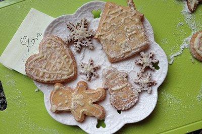 巧克力装饰饼干