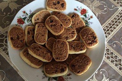 葡萄椰蓉饼干
