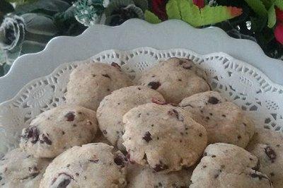 100%健康蔓越莓饼干