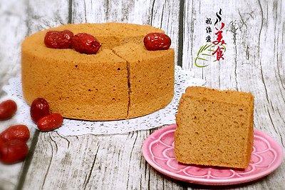 枣泥戚风蛋糕