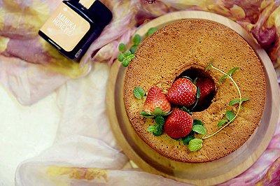 蜂蜜酸奶戚风蛋糕