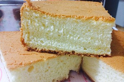 戚风蛋糕(蛋糕胚)
