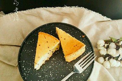 黑芝麻戚风蛋糕8寸