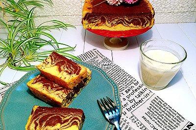 大理石豆浆戚风蛋糕