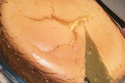 奶油奶酪戚风蛋糕8寸