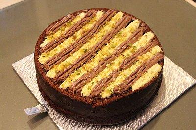 乳酪巧克力戚风蛋糕