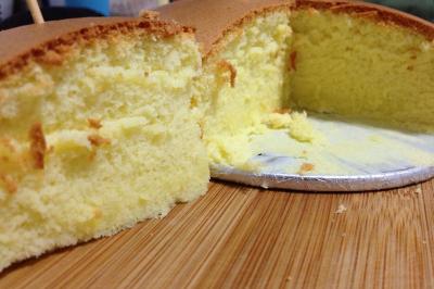 6寸淡奶油戚风蛋糕