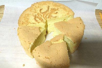 6寸戚风蛋糕(超松软