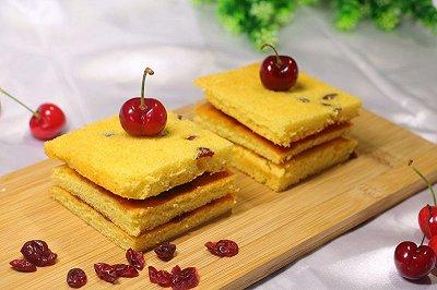 蔓越莓夹心蛋糕(简易