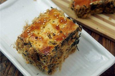 肉松海苔面包