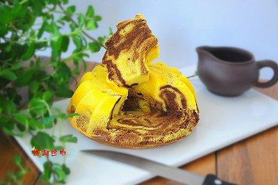 戚风咖啡大理石蛋糕