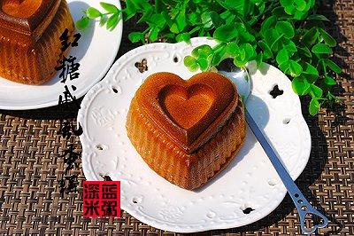 心形红糖戚风蛋糕
