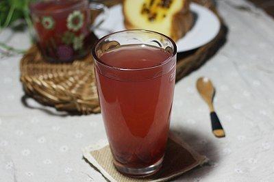 蔓越莓柠檬茶