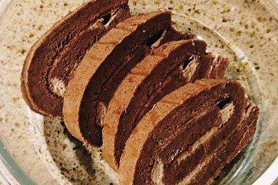 巧克力乳酪蛋糕卷