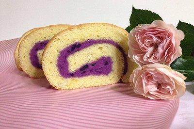 紫薯酸奶蛋糕卷