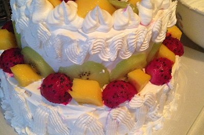 水果双层蛋糕